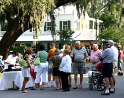 Shopping and dining in a charming historic setting old for Jewelry stores bluffton sc